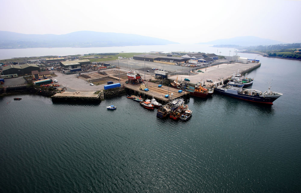 Dinish Island Pier